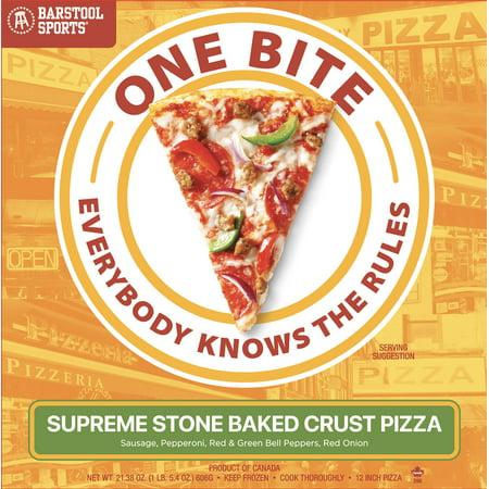 Barstool Sports One Bite Supreme Frozen Pizza 12u0022 21.38 oz