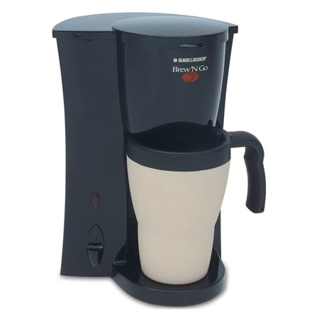 Black+Decker Brew n Go Personal Coffee Maker, DCM18 - Walmart.com