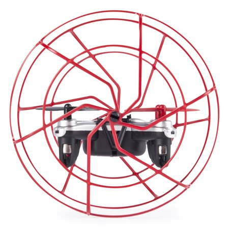 Air Hogs   Hyper Stunt Drone   Unstoppable Micro Rc Drone   Red