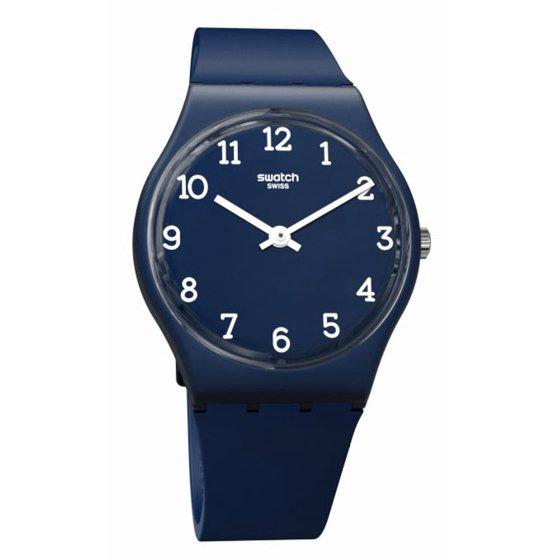Silicone Watch Originals Blue Swatch Unisex Blueway Dial Strap Gn252 4RjcLqS3A5