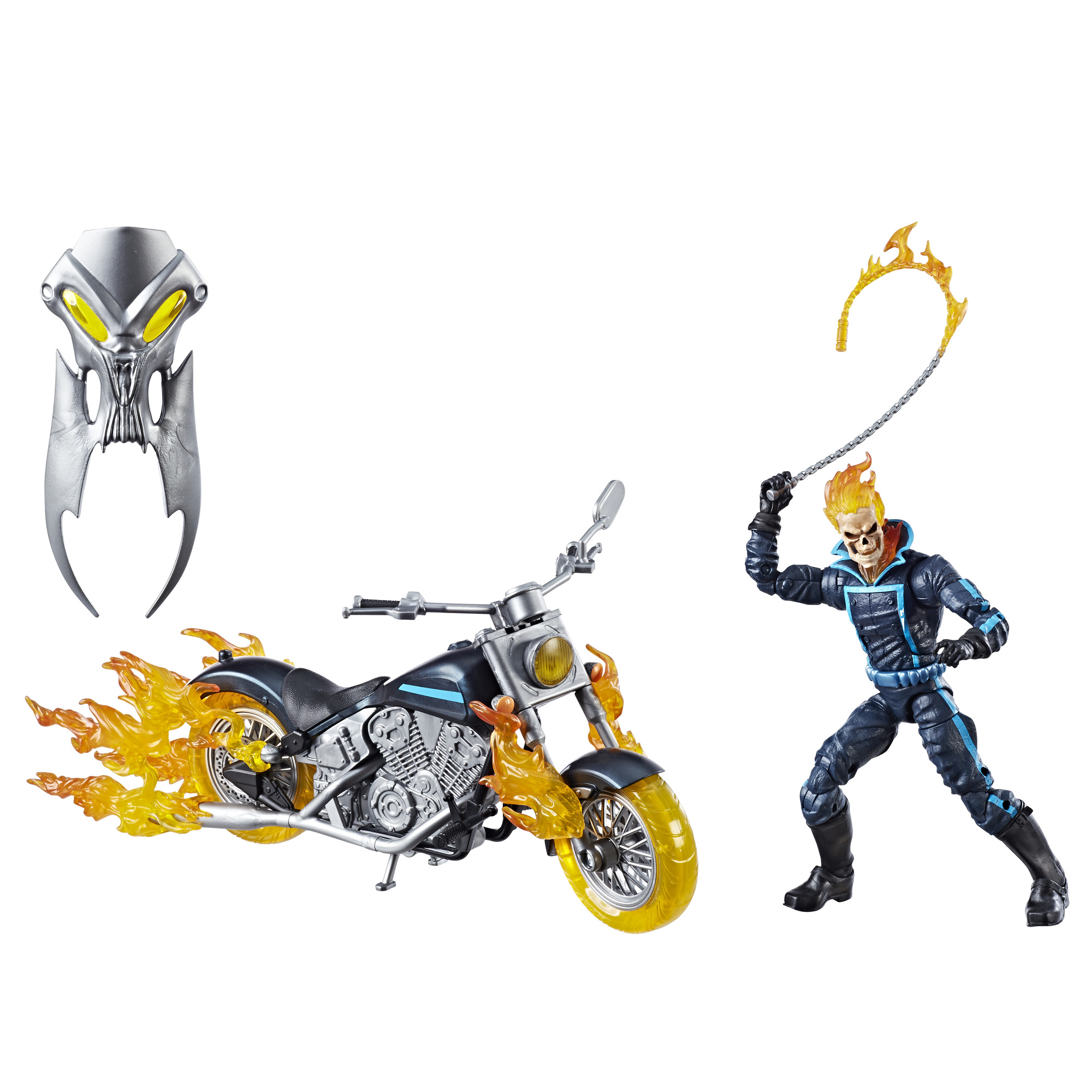 Marvel Legends Series 6 Inch Ghost Rider With Flame Cycle by Marvel
