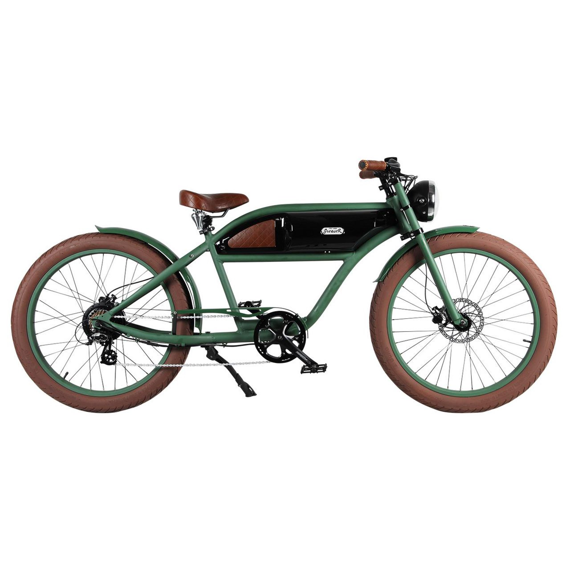 GREASER RETRO STYLE Electric BIKE - 26