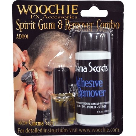 Morris Costumes Spirit Gum With Remover Carded, Style CSAD001C](Spirit Gum And Remover)