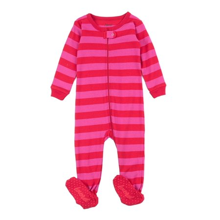 cc96258cd023 Leveret Kids Pajamas Baby Boys Girls Footed Pajamas Sleeper 100 ...