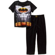 Batman Toddler boys' short sleeve caped 3-piece pajama sleepwear set - online exclusive