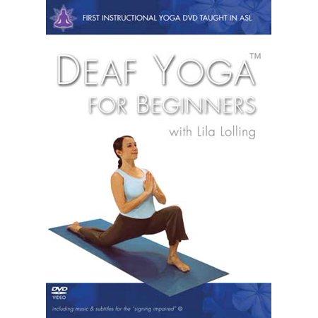Deaf Yoga For Beginners Walmart