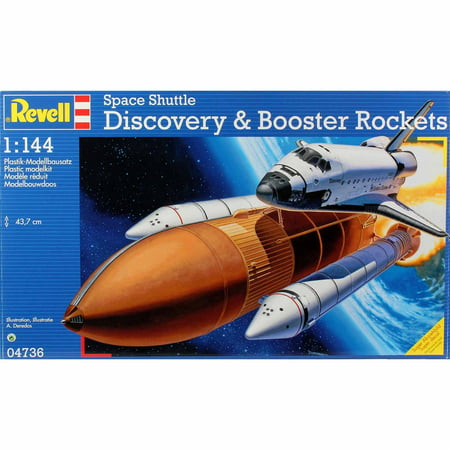 Revell 1:144 Scale Space Shuttle Discovery Model Kit - Walmart.com