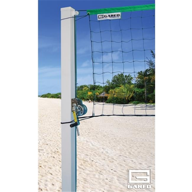 Gared Sports ODVB40SQ 4 in. Square Side Out Outdoor Volleyball Standards