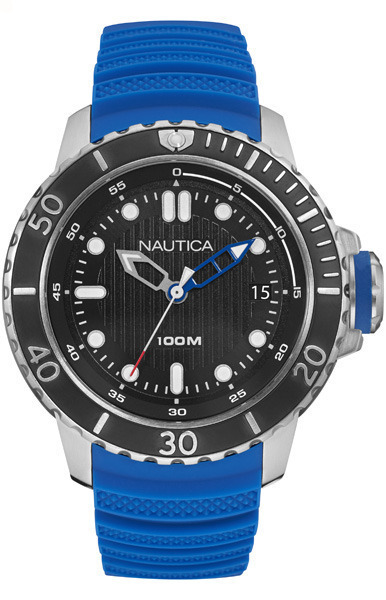 NAUTICA MEN'S WATCH NMX DIVE STYLE DATE 50MM by Nautica