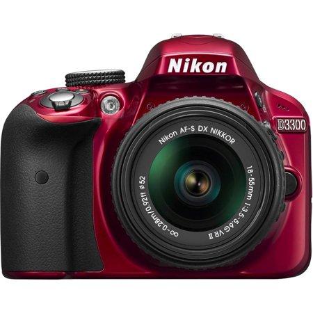 Nikon D3300 Digital SLR with 24.2 Megapixels and 18-55mm Lens Included