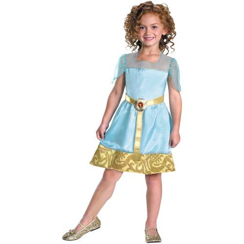 Disney Princess Merida Child Halloween Costume Size Girls One