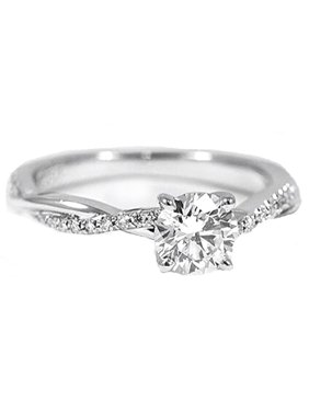19be8b933b5008 Product Image Ginger Lyne Collection Queena Stunning 925 Sterling Silver Engagement  Ring