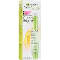 2 Pack - Garnier SkinActive Clearly Brighter Anti-Puff Eye Roller 0.5 oz