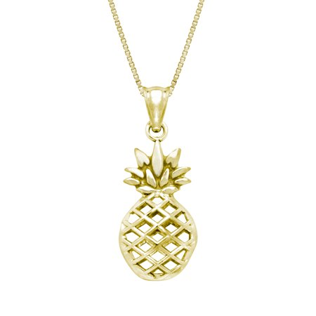 collections yellow pendants pineapples online grande jewelry shop in gold pendant pineapple