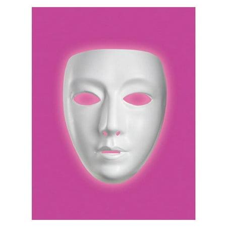Blank Female Mask