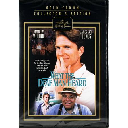 Hallmark Gold Crown (What The Deaf Man Heard DVD Hallmark Gold Crown Collector Edition )