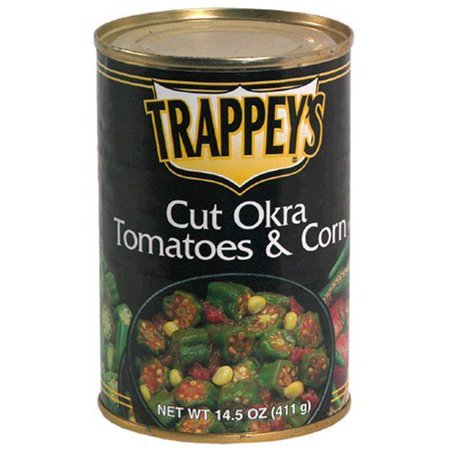 Cut Okra Tomatoes & Corn, 14.5oz Cans (Pack of 6) -
