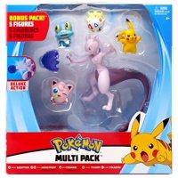Pokemon Mewtwo, Jigglypuff, Froakie, Togepi & Pikachu Multi Figure 5-Pack