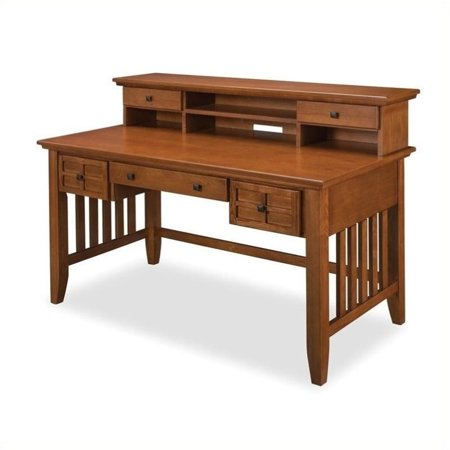 Bowery Hill Executive Desk and Hutch Cottage in Oak ()