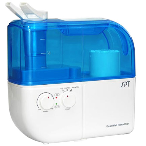 Sunpentown Ultrasonic Dual Mist Warm / Cool Humidifier