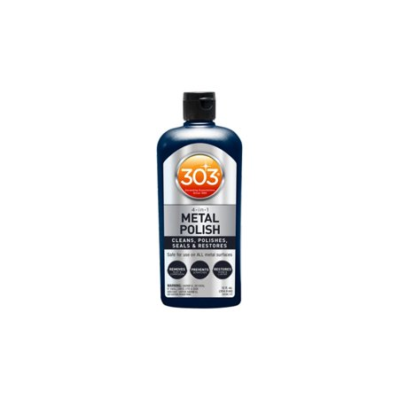 Lab Shine Metal (303 12 Ounce Bottle of Scratch Resistant Shine & Restoration All Metal)