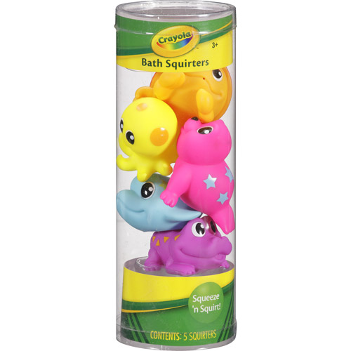 Crayola Assorted Animal Bath Squirters, 5ct