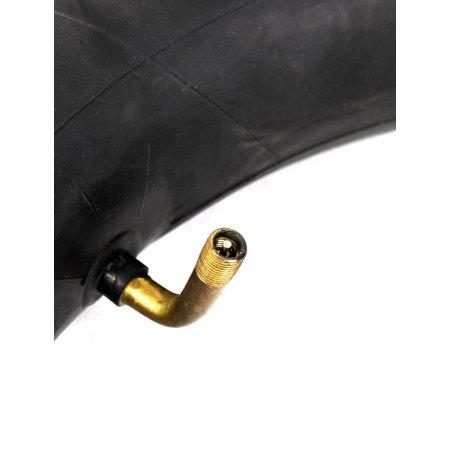 Motorbike Black Rubber 35mm Long Nozzle Inner Tube Tire 350-10 - image 1 of 3