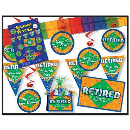The Party Aisle 9 Piece Retirement Party Set](Retirement Center Pieces)