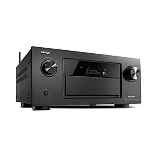 Refurbished Denon AVR-X7200WA 9.2 Channel Full 4K Ultra HD AV Receiver with Bluetooth and Wi-Fi by Denon