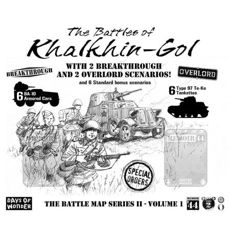 Memoir '44: Battles of Khalkhin-Gol Map Expansion Strategy Board