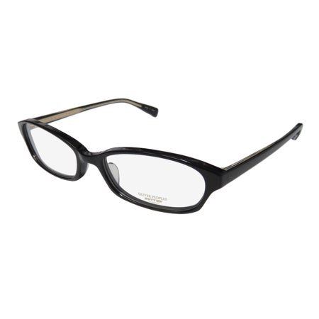 New Oliver Peoples Cady Womens/Ladies Designer Full-Rim Black Famous Designer Stylish Frame Demo Lenses 50-16-135 Eyeglasses/Eye Glasses (Schwarze Designer Glasses Frames)