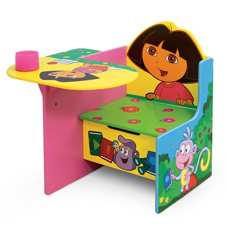 Dora The Explorer Toddler Desk And Chair