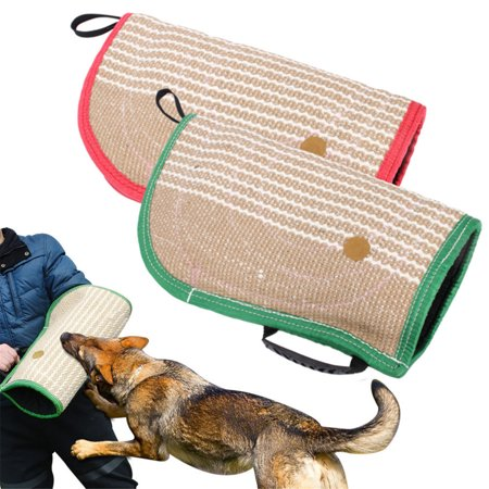 Jute Bite Sleeves Tugs Arm Sleeve Professional Protection for Police Working Young Dogs Work Dog Puppy Training