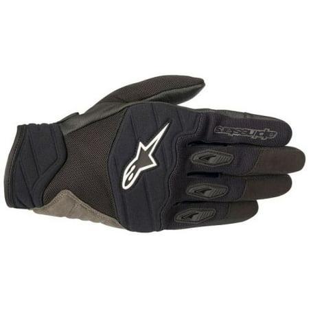 Alpinestars Men's Shore Black Gloves (Alpinestars Scheme Kevlar Gloves)