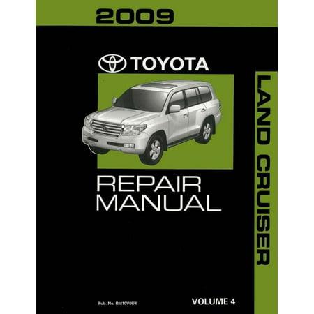 Bishko OEM Repair Maintenance Shop Manual Bound for Toyota Land Cruiser Volume 4 Of 4 2009