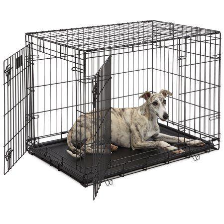 """MidWest 36"""" LifeStages Double Door Dog Crate"""
