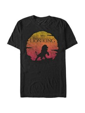 a6e6665f Product Image Lion King Men's Sunset Pose T-Shirt