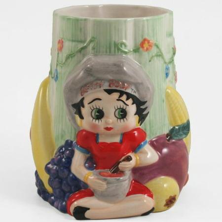 Betty Boop Fruit Ceramic Cooking Utenstil Kitchen Caddy (Betty Boop Kitchen)