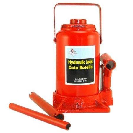 Te Echo De Menos 50 Ton Hydraulic Bottle Jack Heavy Duty Truck Shop Equipment Automotive Tools