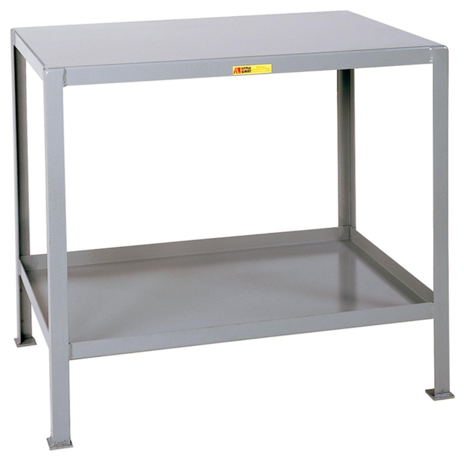 Little Giant Steel Machine Table with Shelf