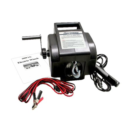 Five Oceans Electric Portable Trailer Recovery Winch, 2000 LBS (Portable Winch)