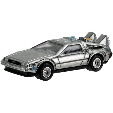 Hot Wheels Diecast 1:64 Scale Back To The Future Time Machine