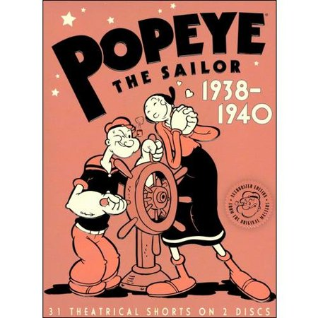 Popeye The Sailor: 1938-1940, Volume Two