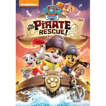 Paw Patrol: The Great Pirate Rescue (DVD) - Adult Pirate Movie