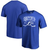 Tampa Bay Lightning Fanatics Branded Vintage Collection Line Shift Big and Tall T-Shirt - Blue