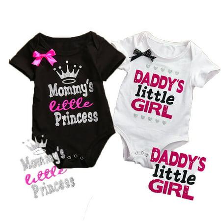 Cotton Newborn Infant Baby Boy Girls Bodysuit Romper Jumpsuit Clothes Outfits 100% Cotton Bodysuit Set