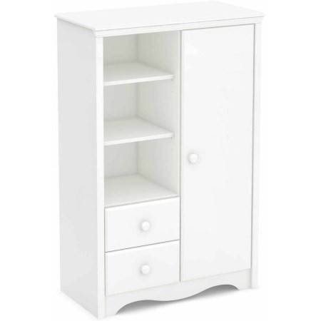 South Shore Angel Armoire with Drawers, Multiple Colors by South Shore Furniture