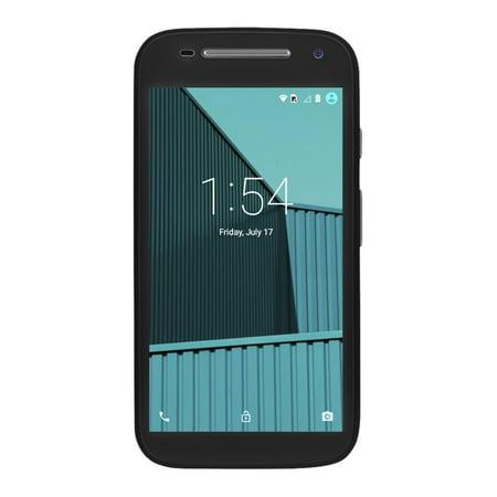 100% FREE MOBILE PHONE SVC W/ FREEDOMPOP MOTO E BLACK