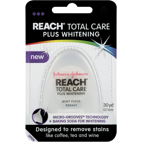 Reach Total Care Plus Whitening Mint Floss, 30yd