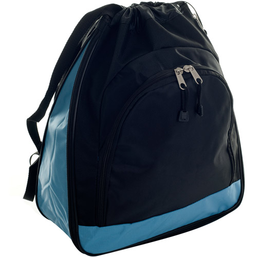 Toppers Expandable Shoulder Sport Pack with Pouch, Sky Blue